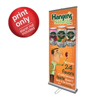 "Banner for PDE05 33"" x 79"" - Replacement Graphics"