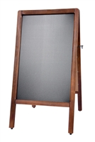 A-Frame Antique Sidewalk Chalkboard