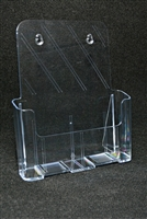 Letter Size Brochure Holder - 1 Pocket