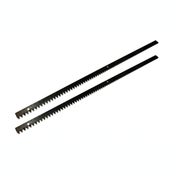 ALEKO® 6.5Ft SET Steel Gear Racks 3.3 Ft each, 2pcs