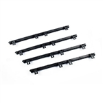 ALEKO® 9Ft SET Nylon Gear Rack Fiber-Glass Reinforced With Metal Insert 2.23 Ft each, 4pcs