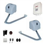Articulated Gate Opener for Dual Swing Gates - AA1100 - Accessory Kit ACC4 - ALEKO