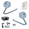 Articulated Gate Opener for Dual Swing Gates - AA1100 - Back-up Kit ACC2 - ALEKO