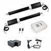 Dual Swing Gate Operator - AS1300U - ETL Listed - Back-up Kit ACC2 - ALEKO
