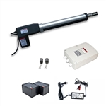 Single Swing Gate Operator - AS600 AC/DC - Back-up Kit ACC2 - ALEKO