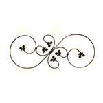 Solid forged iron Baluster 035