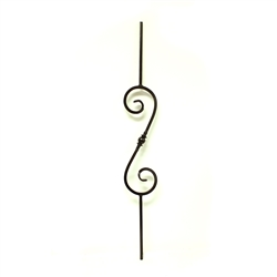 Solid forged iron Baluster 777