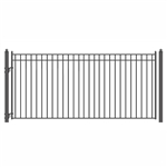 ALEKO® MADRID Style Single Swing Steel Driveway Gate 16'