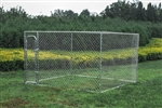 Dog Kennel  10' x 10' x 6'  DIY Box Kennel Chain Link Dog Pet System