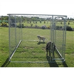 ALEKO Chain Link Dog Kennel  13' x 7 1/2' x 6'