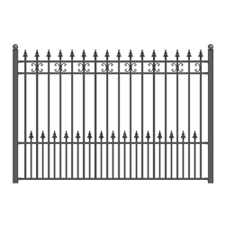 ALEKO® St. Petersburg Steel Fence 8' X 5'