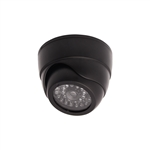 ALEKO  DCD06 Dummy Replica Criminal Surveillance Imitation Dome Camera With LED, Black