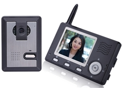"ALEKO® LM162 Wireless Video Door Phone Intercom System with 3.5"" Display"