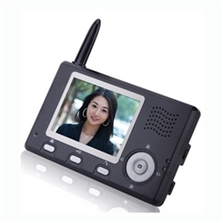 "ALEKO® Wireless Display for Video Intercom System LM162 with 3.5"", Display only"
