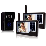 "ALEKO® LM163D Wireless Video Door Phone Intercom System with Two 3.5"" Display"