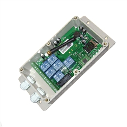 ALEKO® LM182 Seven Output GSM Relay with application