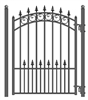 ALEKO® Prague Steel Pedestrian Gate 5'