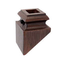 ALEKO SHM1B Oil Rubbed Bronze Shoe 1/2 Inch for Balusters Spindles Stair Supply Part - Lot of 10