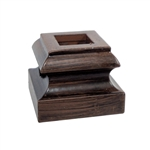 ALEKO SHM3B Oil Rubbed Bronze Shoe 1/2 Inch (1.27 cm) for Balusters Stair Supply Part - 10 Pack