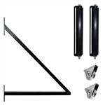 ALEKO® Sliding Gate Hardware Kit with Extension Bracket