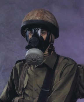 IDF M-15 Gas Mask