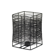 Large Geometric Nest Candle Holder