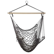 Espresso Brown Hammock Chair 200lb CAP