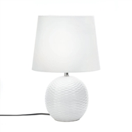 White Fairfax Ceramic Table Lamp
