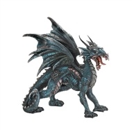Fierce Winged Dragon Statue