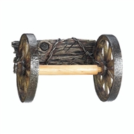 Western Wagon Wheels Toilet Paper Holder