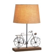 Old-Fashioned Bicycle Table Lamp