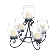 Enlightened 5-Cup Centerpiece Candle Holder