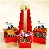 Godiva Chocolate For Any Occasion Gift Tower