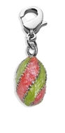 Easter Pendant Charm Dangle in Silver