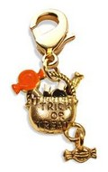 Trick or Treat Charm Dangle in Gold
