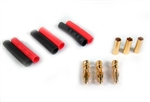 4mm Bullet Connectors (3 Pairs)