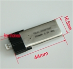 300mAh 3.7V 45C high performance battery for MCPX