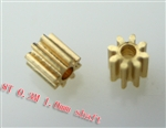 1.0mm Pinion gear 0.3M 8T