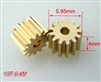 1.5mm Pinion gear 0.4M 13T for 130X