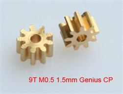 1.5mm Pinion gear 0.5M 9T for Genius CP