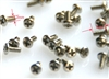 M1.2x3 Mechanical screws 10 ea