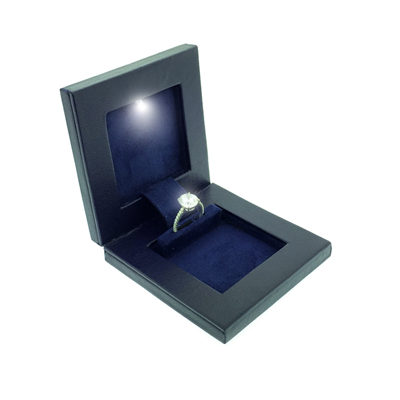 "Secret Ring Box ""Night"" (free with a ring purchase of $3500 & up)"