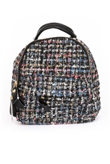 Multi Tone Chic Backpack