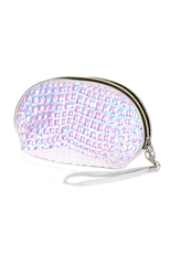 Dozen Assorted Color Dainty Cosmetic Pouch