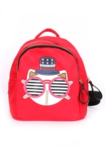 Cat Theme Chic Backpack