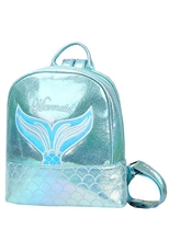 Holographic Laser Mermaid Backpack