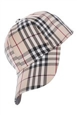 Plaid Print Fashion Cap