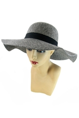 Large Brim Wool Felt Hat