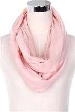 A Dozen Assorted Color Pastel Tone Infinity Scarves