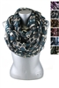 DZ Pack Assorted Color Aztec Print Infinity Scarves